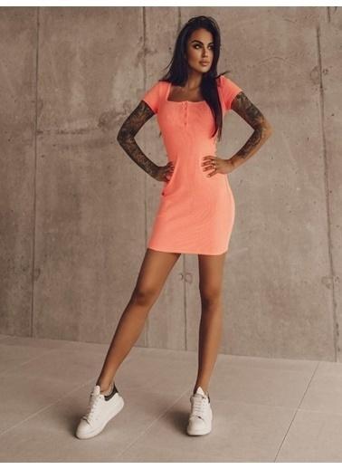 BLACK&GRACE Elbise Oranj